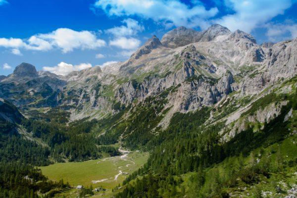 Triglavský národní park, Julské Alpy, Slovinsko