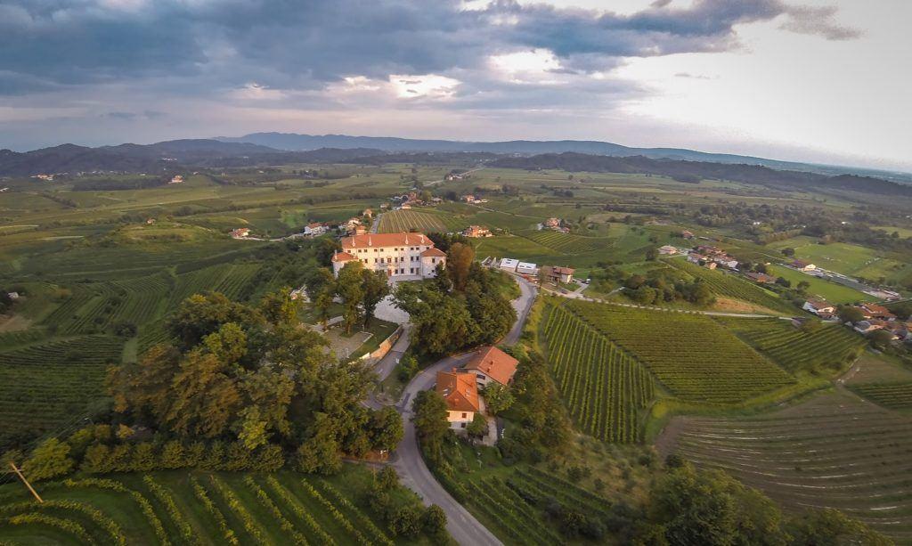 Vila Vipolže, Goriška Brda, Slovinsko