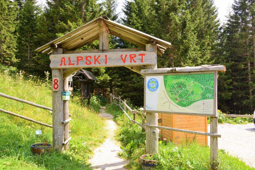 Alpské arboretum, Golte, Slovinsko