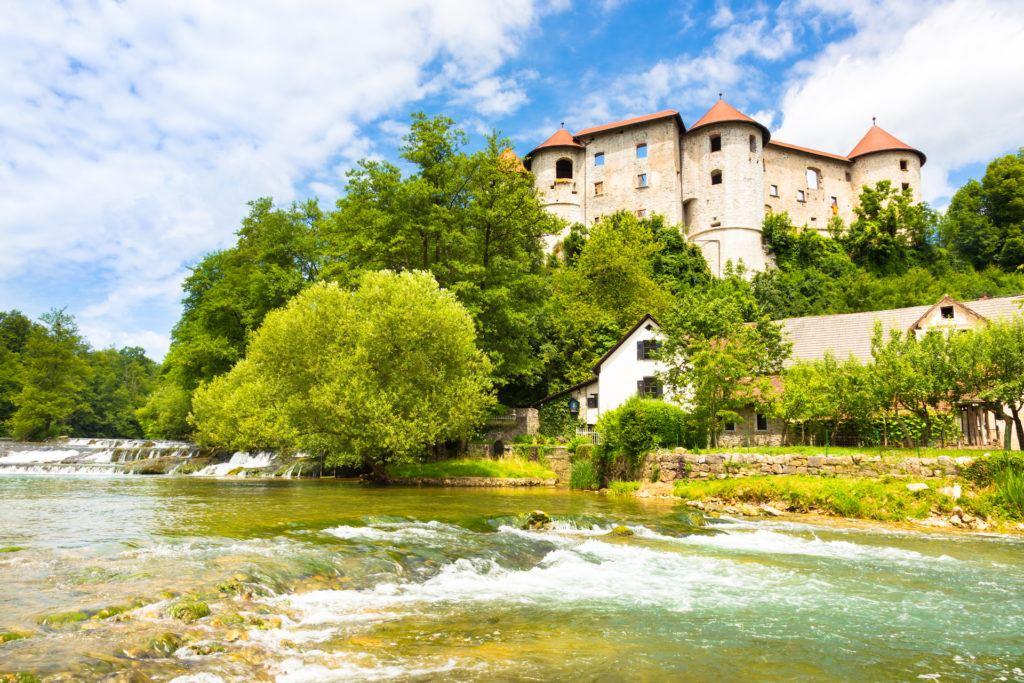 Hrad Žužemberk, Slovinsko