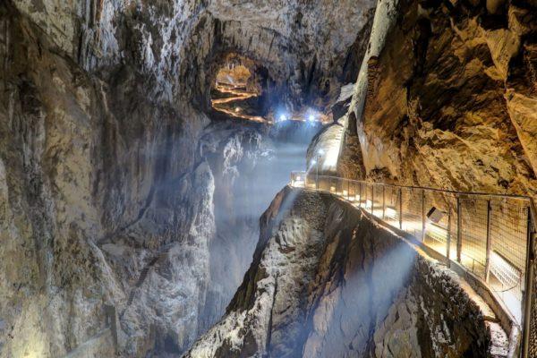 Škocjanské jeskyně, Slovinsko