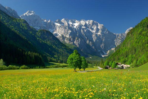 Logarská dolina, Kamnicko-Savinjské Alpy, Slovinsko