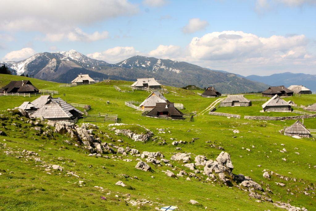 Velika Planina, Slovinsko. Foto: Alenka Hribar