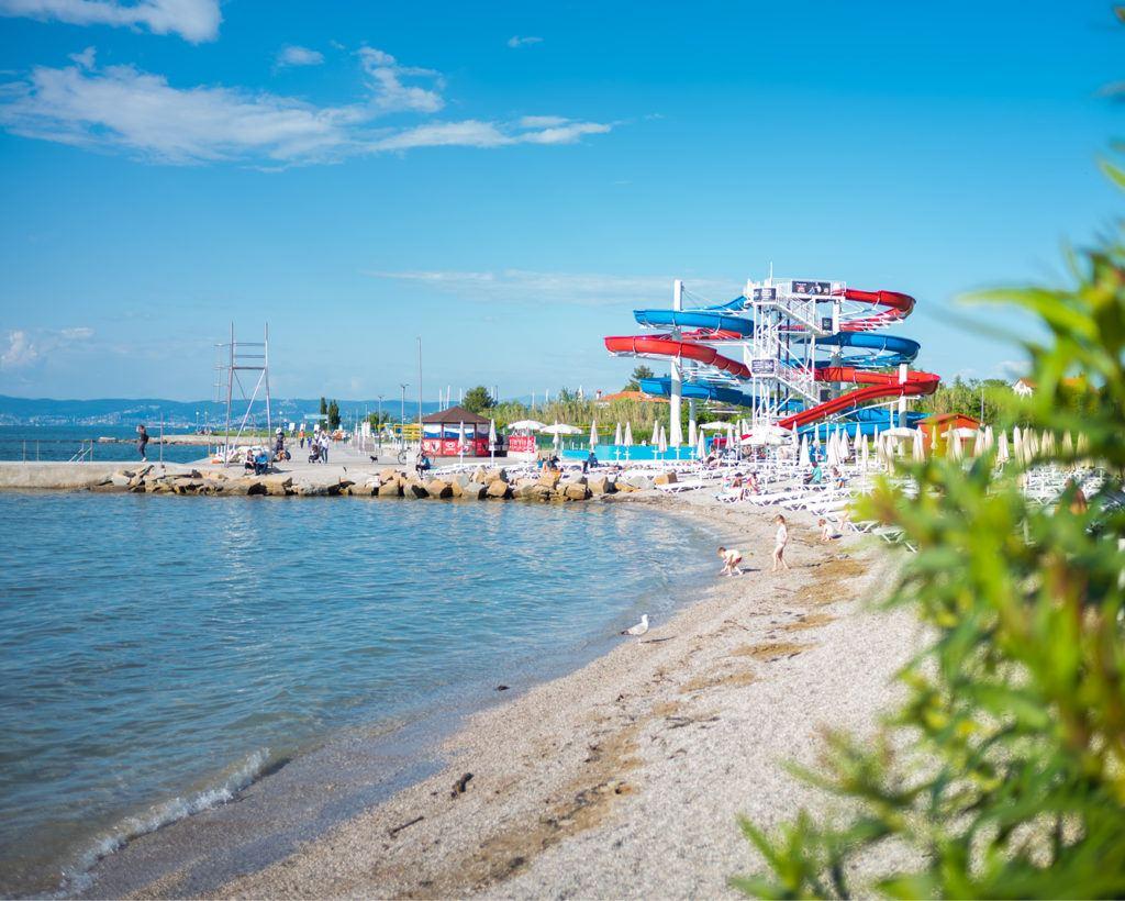 Resort San Simon, Izola, Slovinsko. Foto: Luka Kaše, Riiba