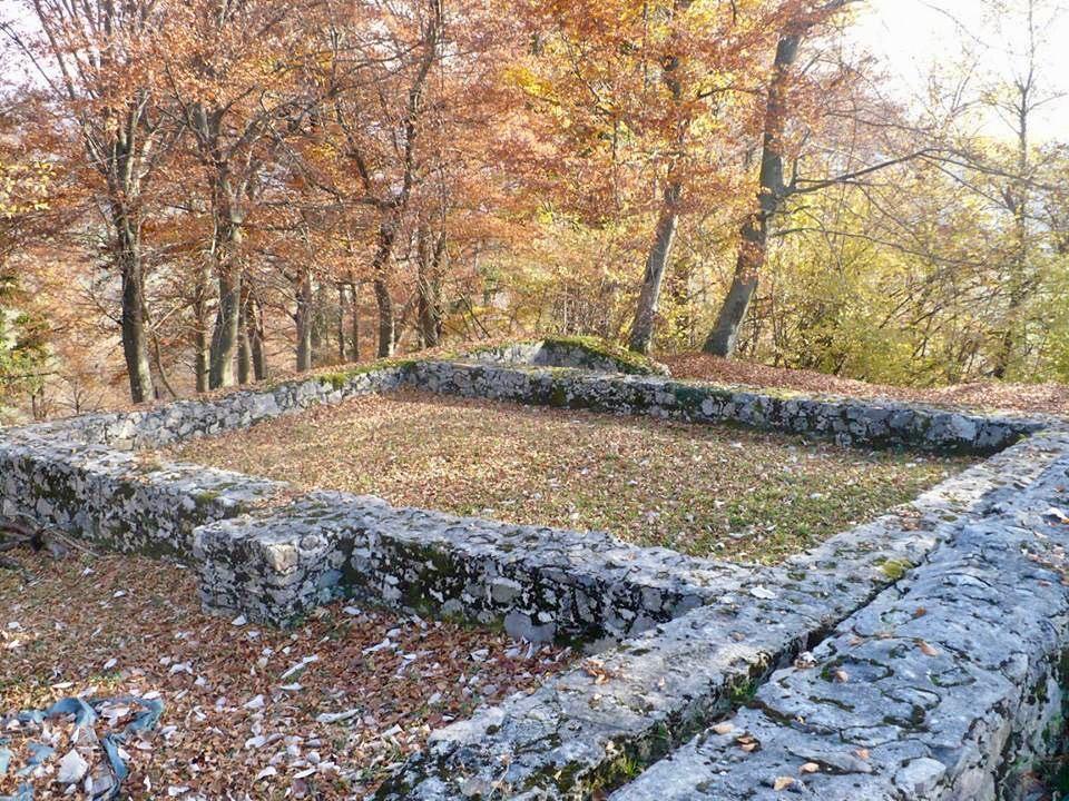 Ajdovski gradec, Sevnica, Slovinsko. Foto: Soňa Hendrychová