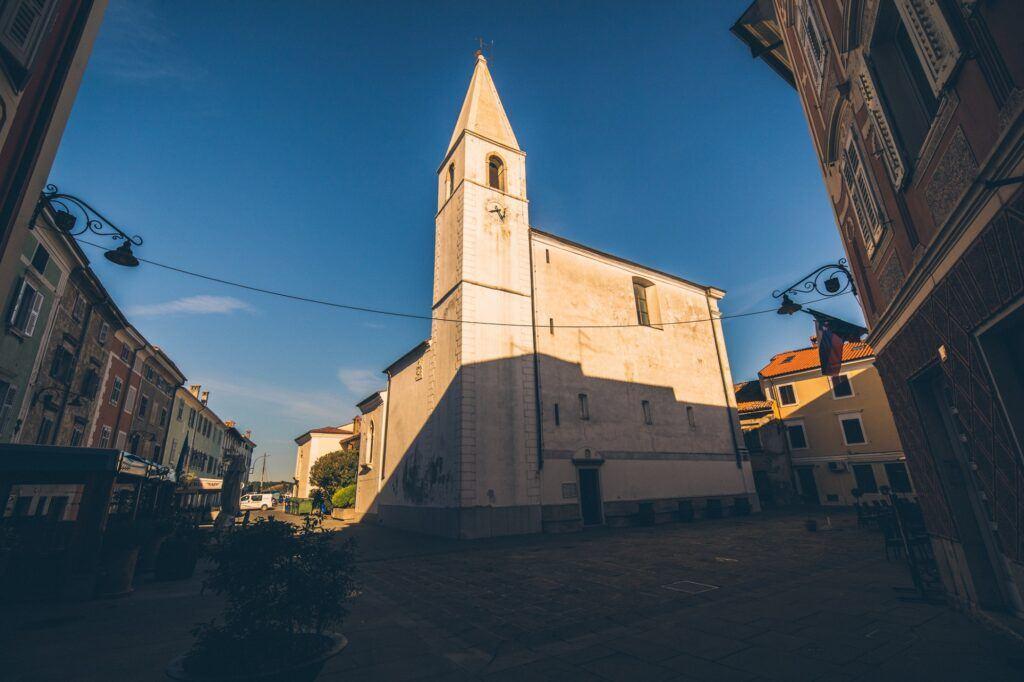 Kostel sv. Marie Alietské, Izola, Slovinsko