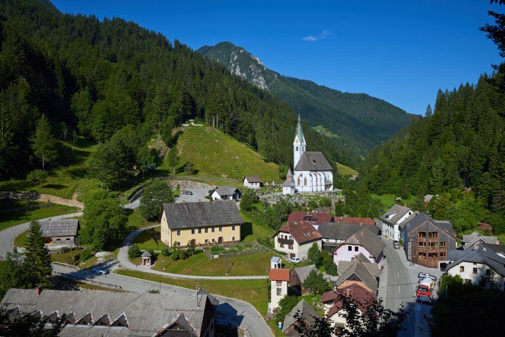 Solčava, Kamnicko-Savinjské Alpy, Slovinsko