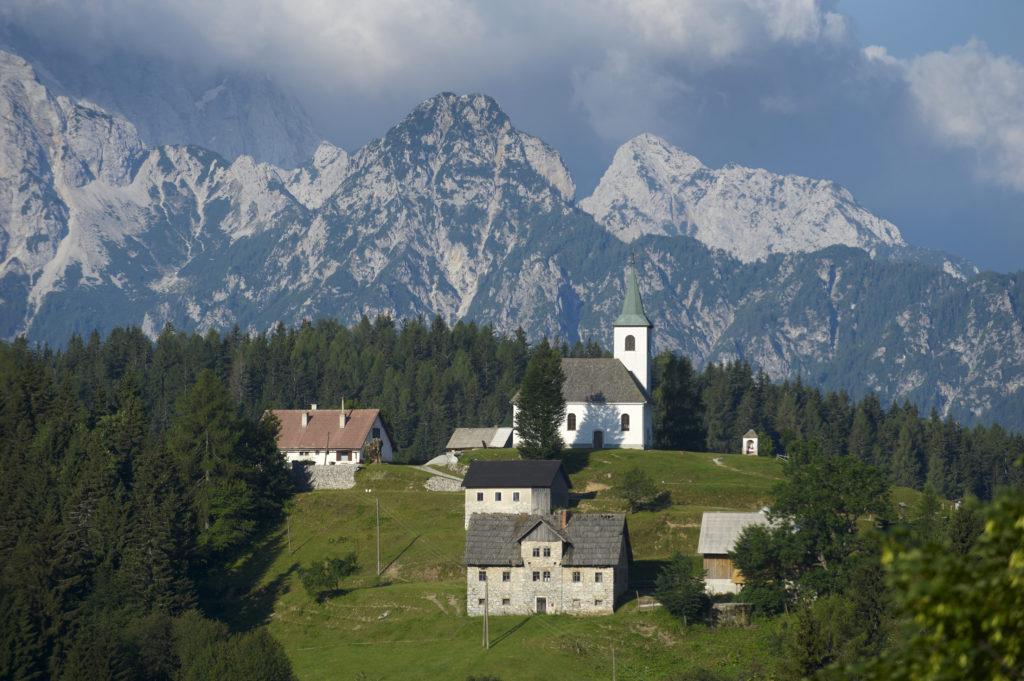 Sveti Duh, Solčavská panoramatická cesta, Slovinsko
