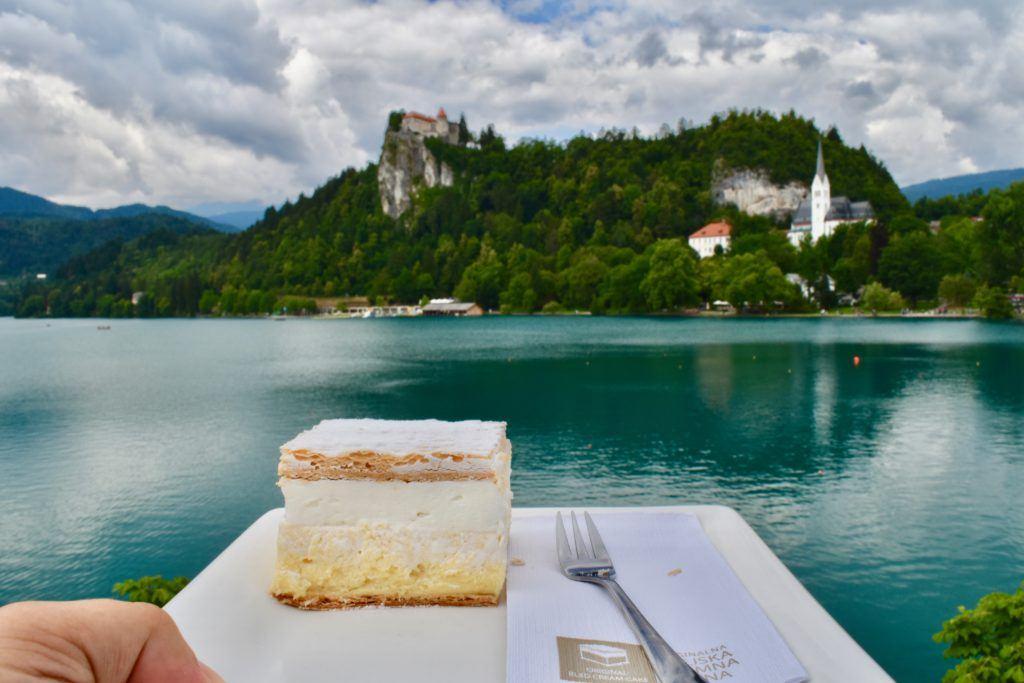 Blejska kremna rezina, Bled, Slovinsko