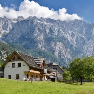 Turistická farma Lenar, Logarská dolina, Slovinsko