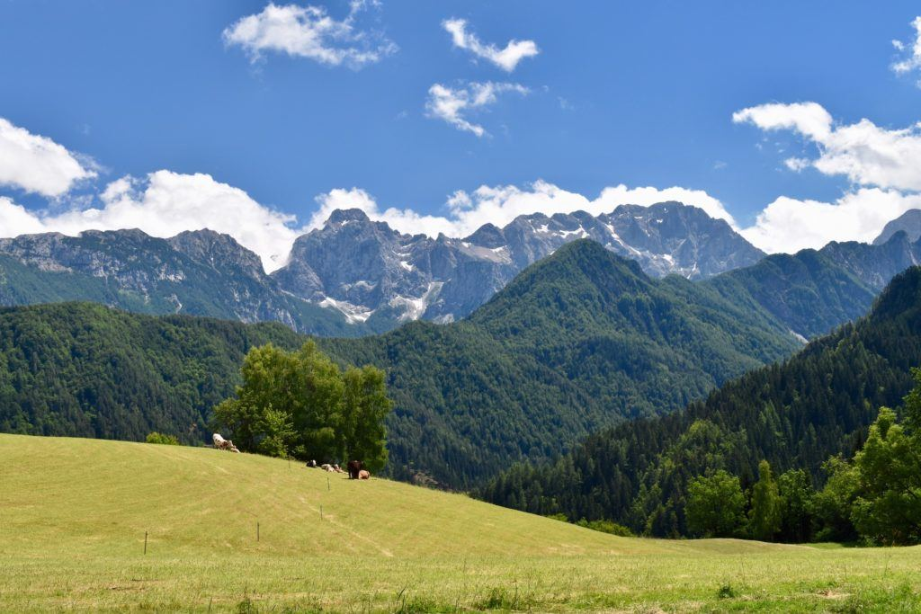 Solčavsko, Kamnicko-Savinjské Alpy, Slovinsko