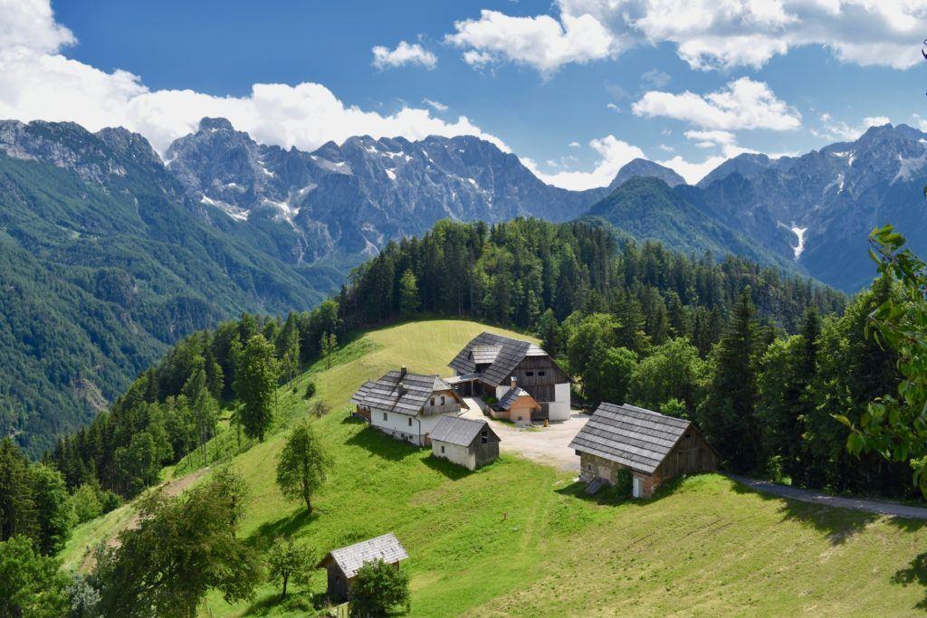 Solčavská panoramatická cesta, Kamnicko-Savinjské Alpy, Slovinsko