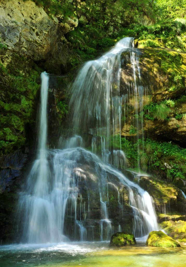 Vodopád Virje, Bovec, Slovinsko