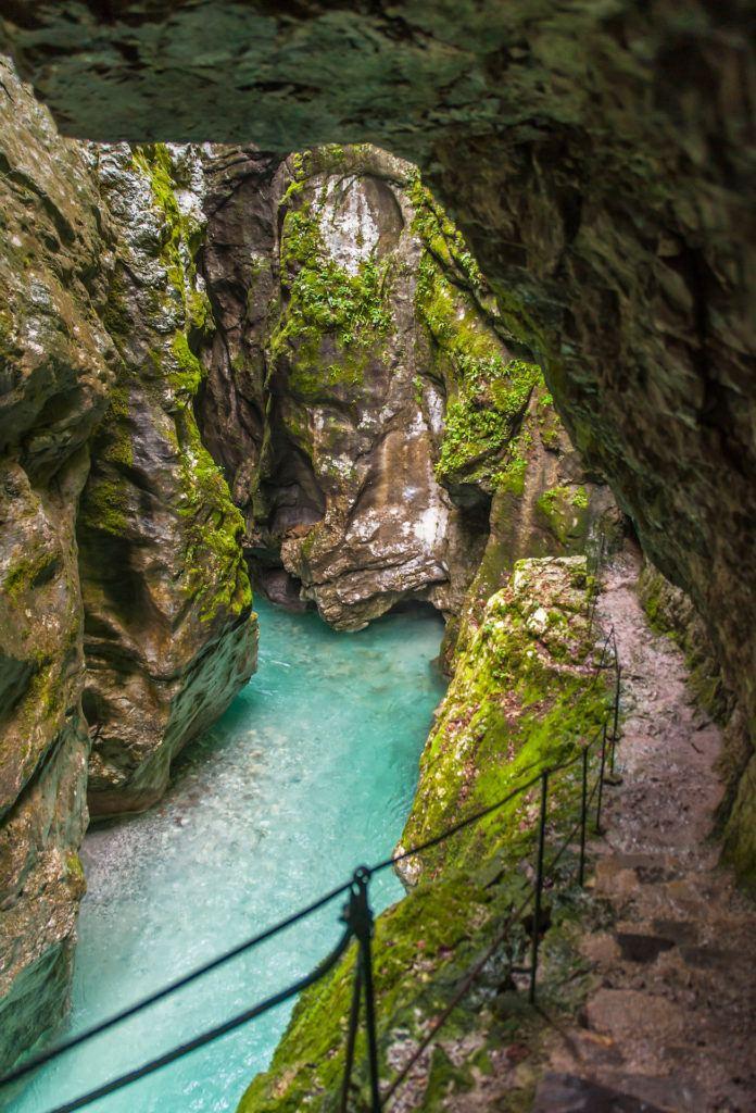 Tolminska korita, Julské Alpy, Slovinsko