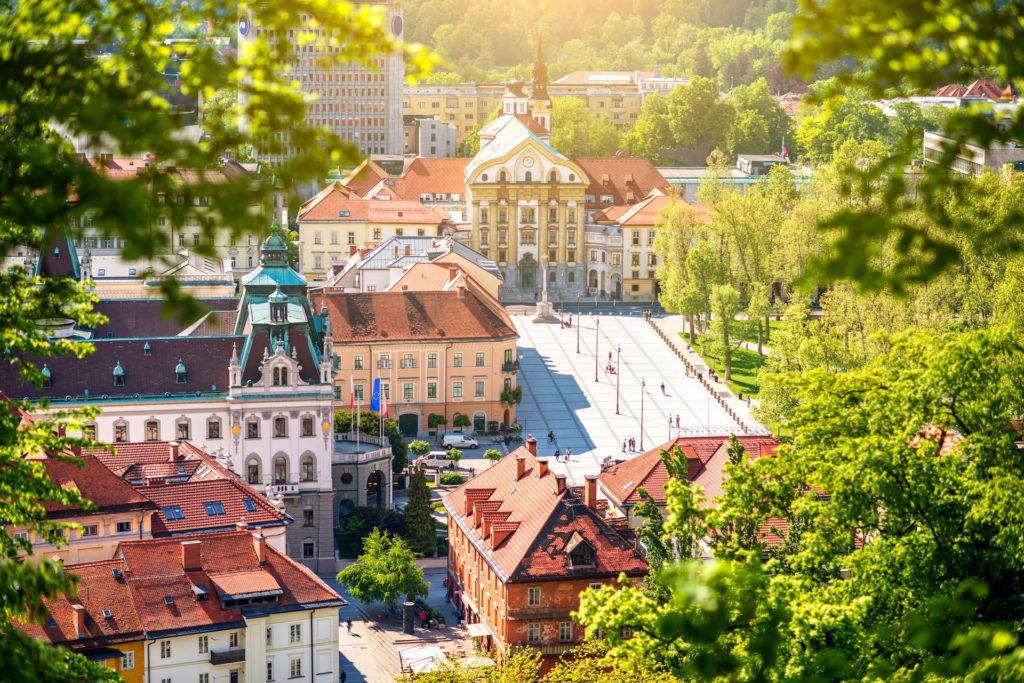 Kongresni trg, Lublaň, Slovinsko