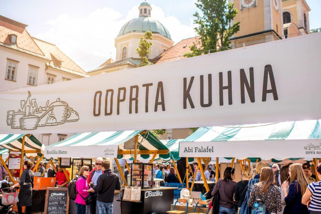 Foodmarket, Lublaň, Slovinsko