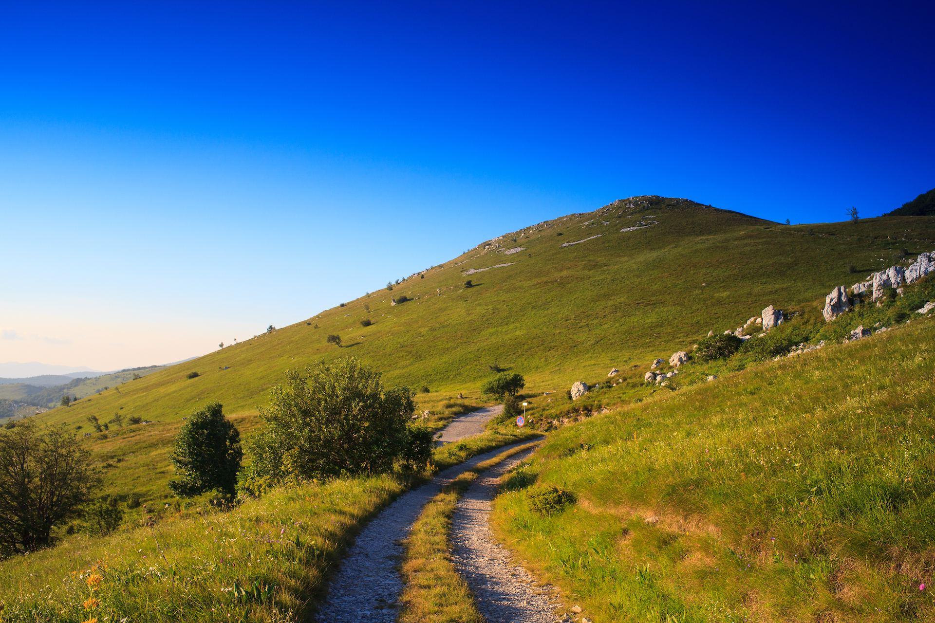 Planina Nanos, Vipavská dolina, Slovinsko