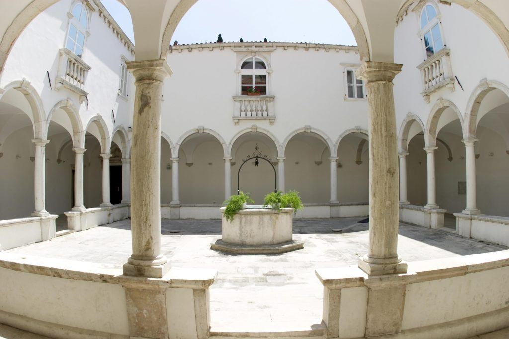 Minoritský klášter, Piran, Slovinsko