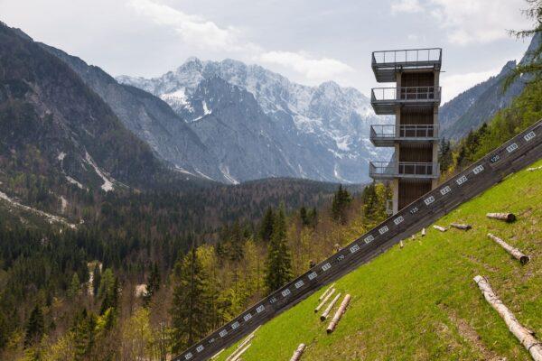 Planica, Slovinsko.