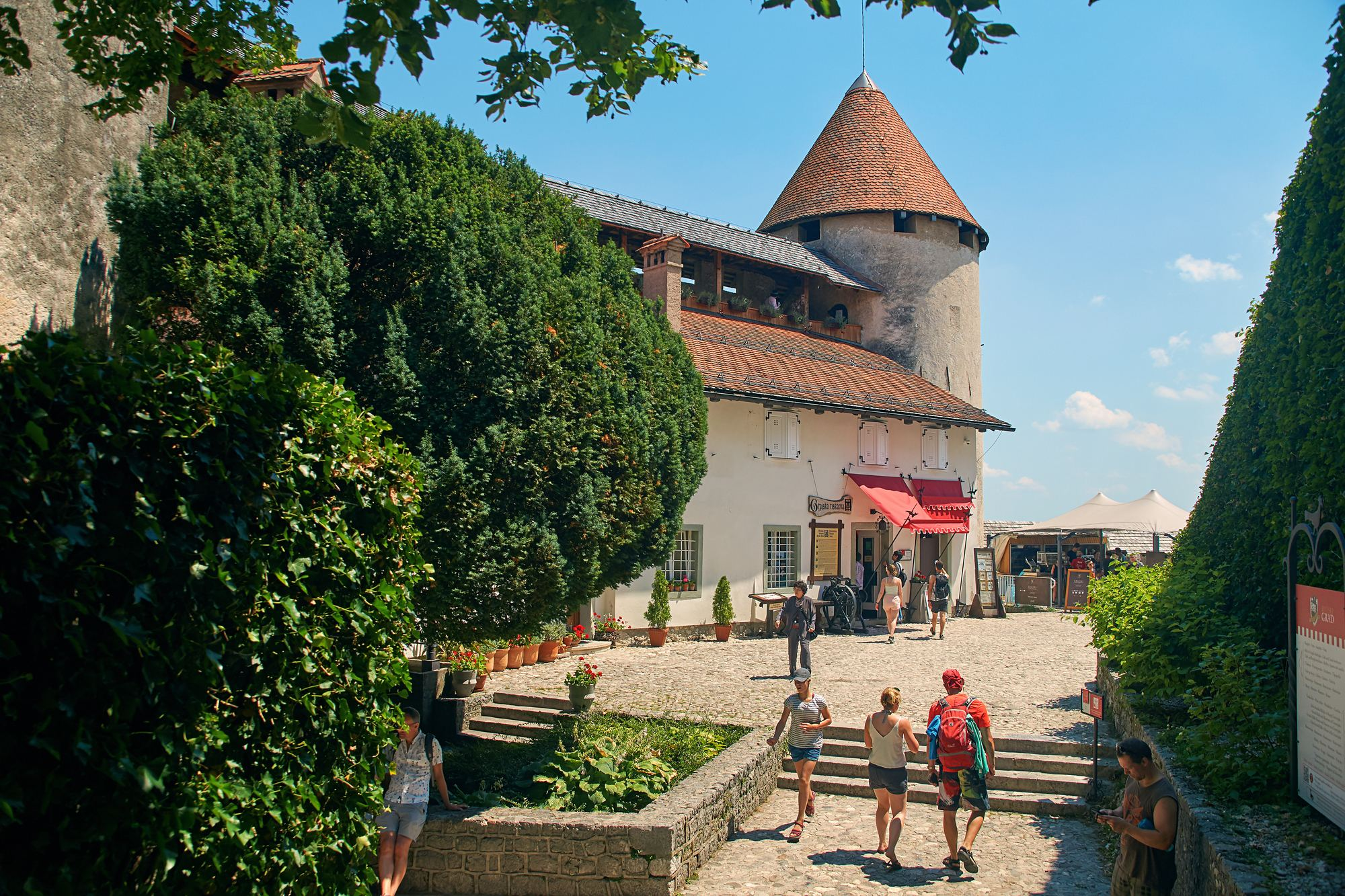 Bledský hrad, Bled, Slovinsko