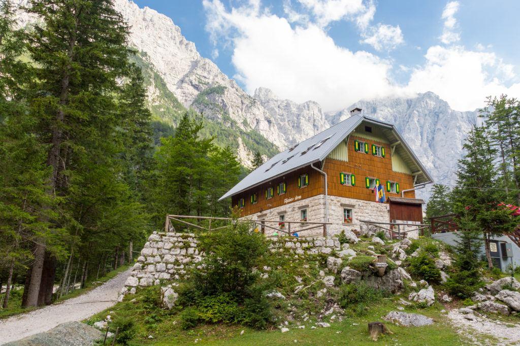 Aljažev dom, Triglavský národní park, Slovinsko