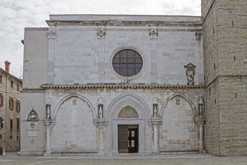 Kostel Nanebevzetí Panny Marie, Koper, Slovinsko