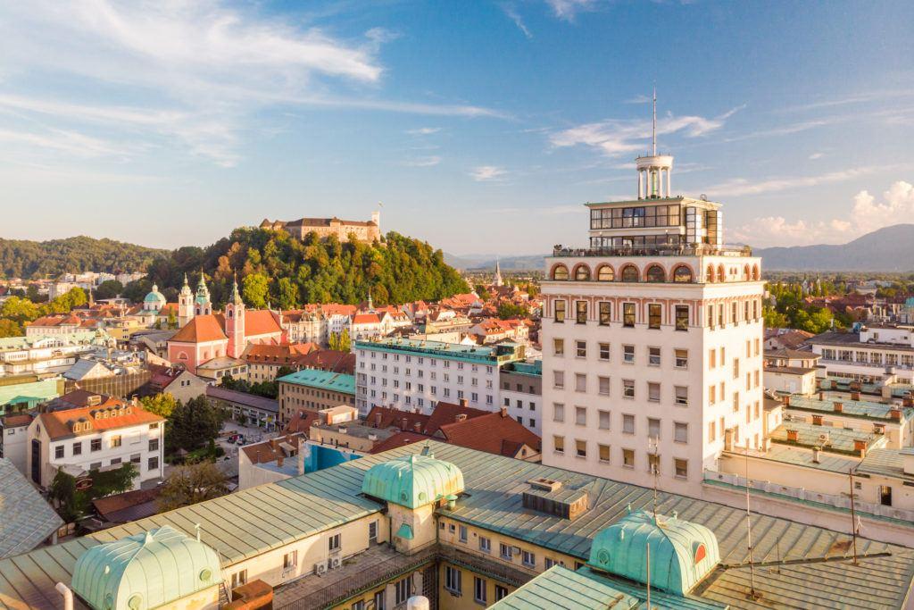 Nebotičnik, Lublaň, Slovinsko