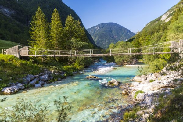 Údolí Soči, Slovinsko