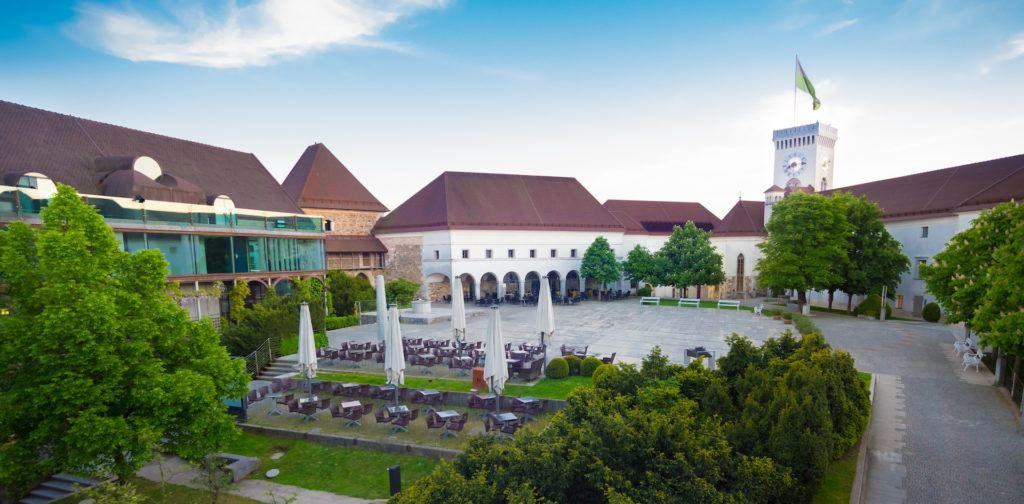 Lublaňský hrad, Lublaň, Slovinsko