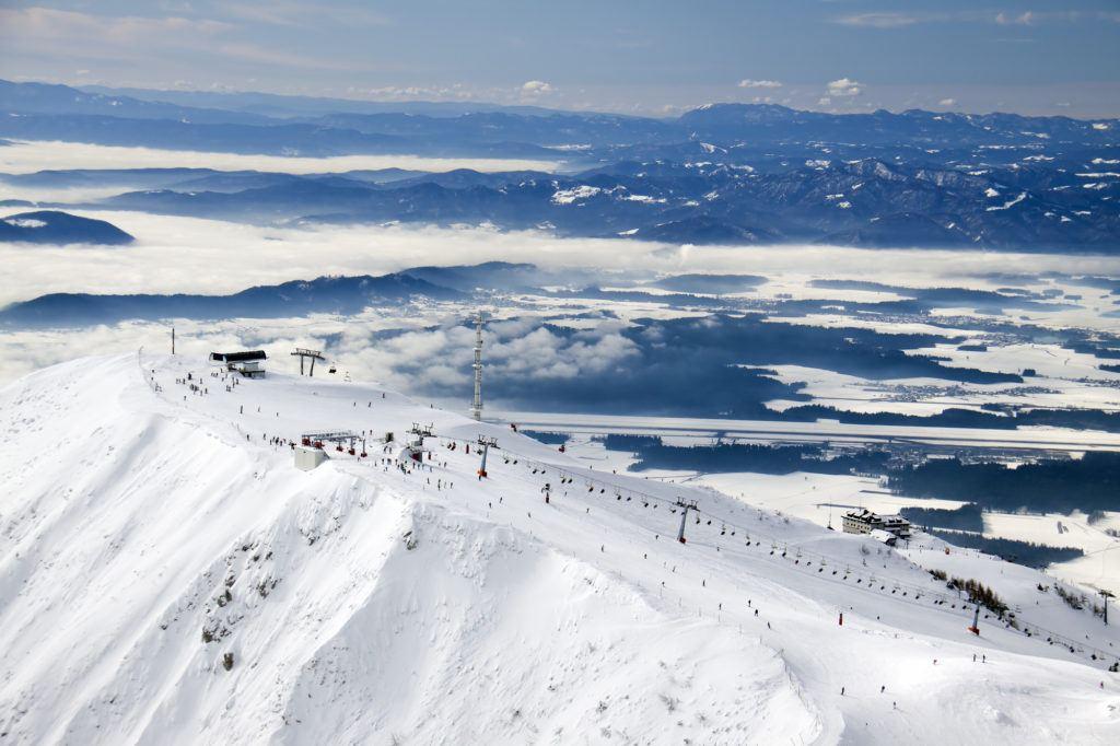 Skiareál Krvavec, Kamnicko-Savinjské Alpy, Slovinsko