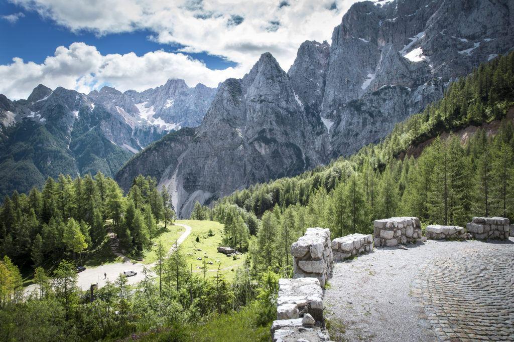Vršič, Julské Alpy, Slovinsko