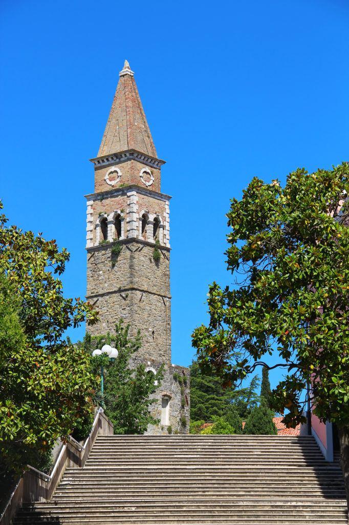 Kostel sv. Bernardina, Portorož, Slovinsko