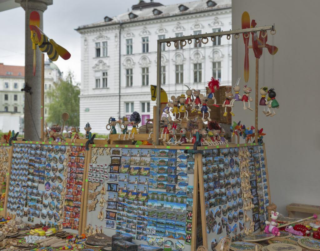 Lublaň, suvenýry, Slovinsko