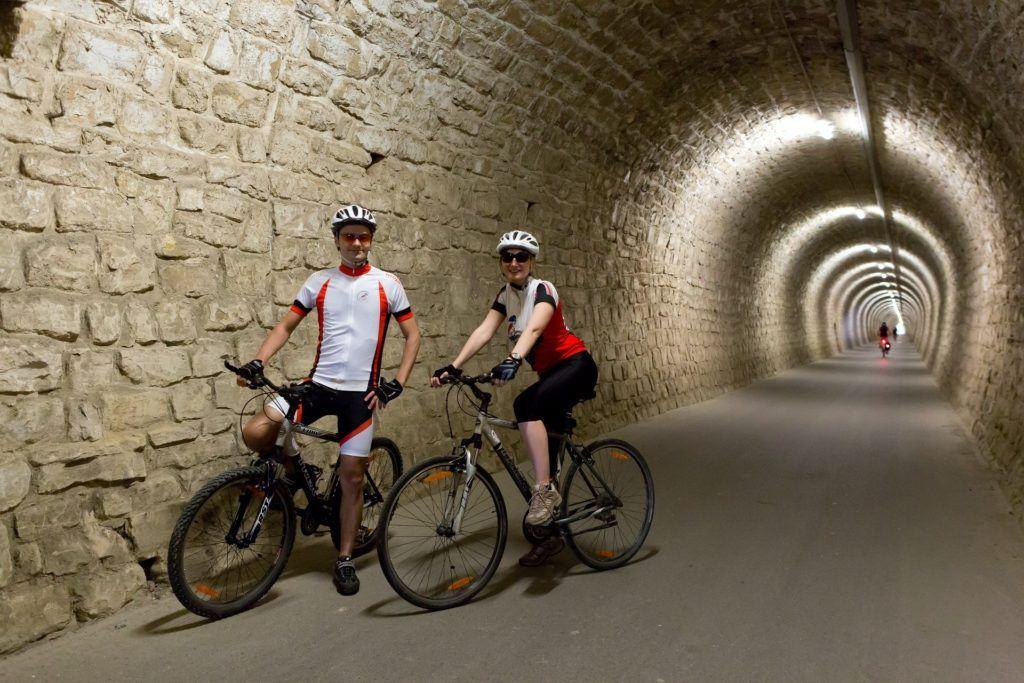 Tunel Valeta, Portorož, Slovinsko. Foto: Jaka Jeraša