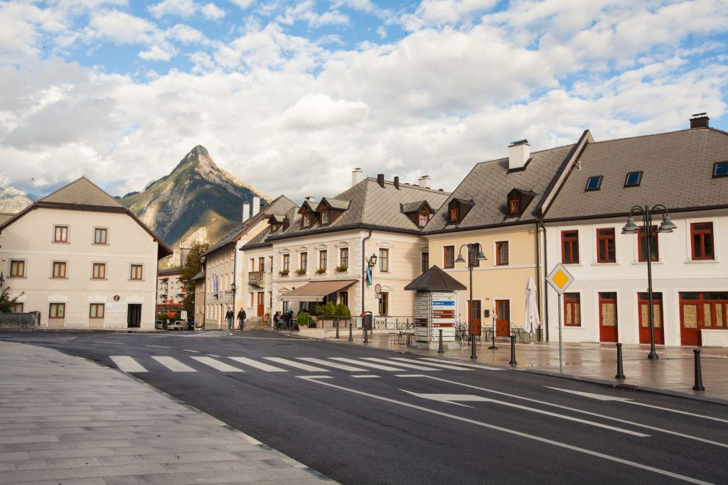 Bovec, Julské Alpy, Slovinsko. Foto: Boris Pretnar