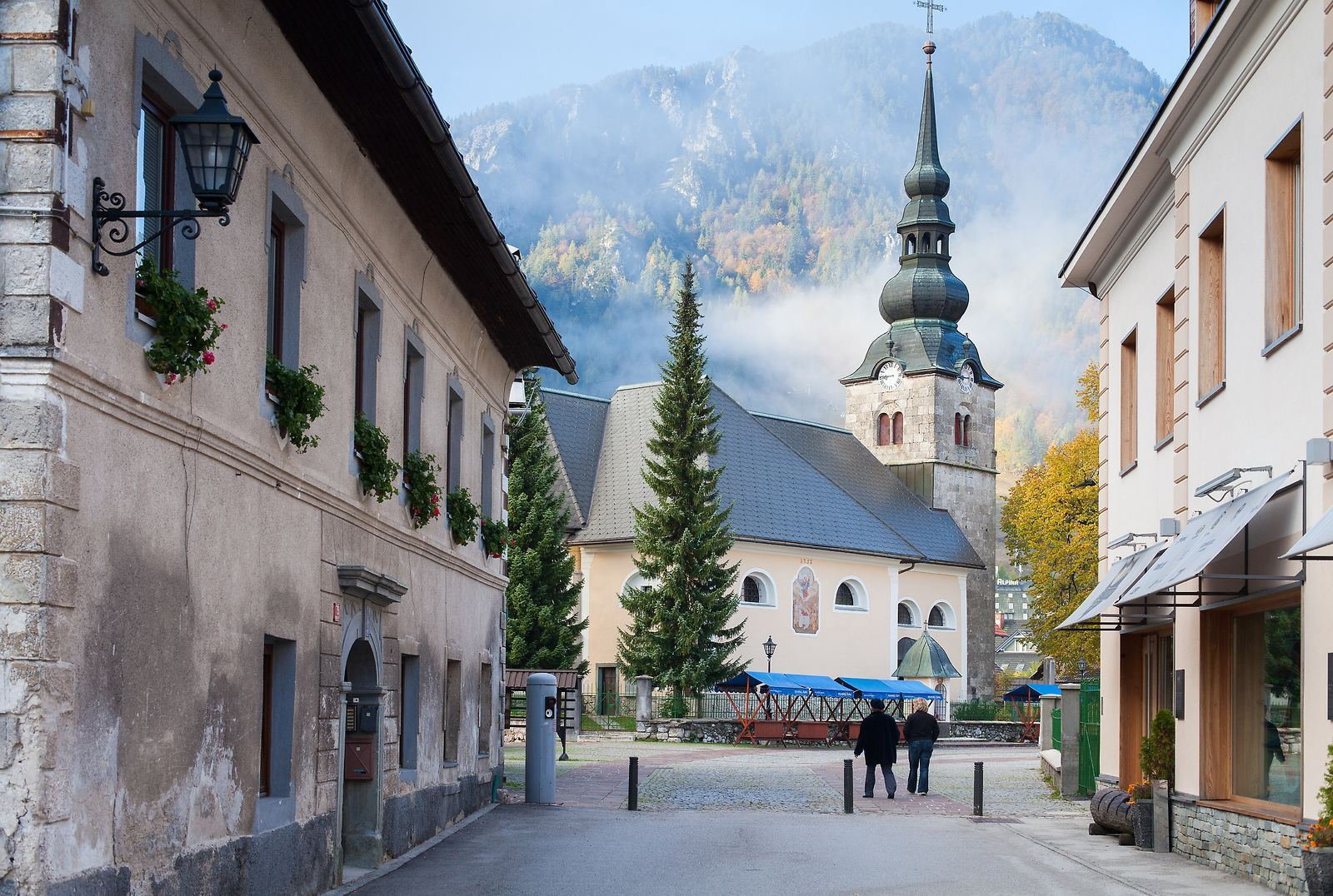 Kranjska Gora, Slovinsko. Foto: Boris Pretnar