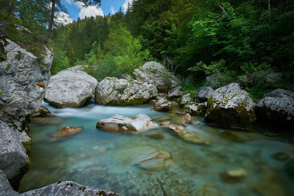 Savinja, Solčava, Slovinsko. Foto: Tomo Jeseničnik