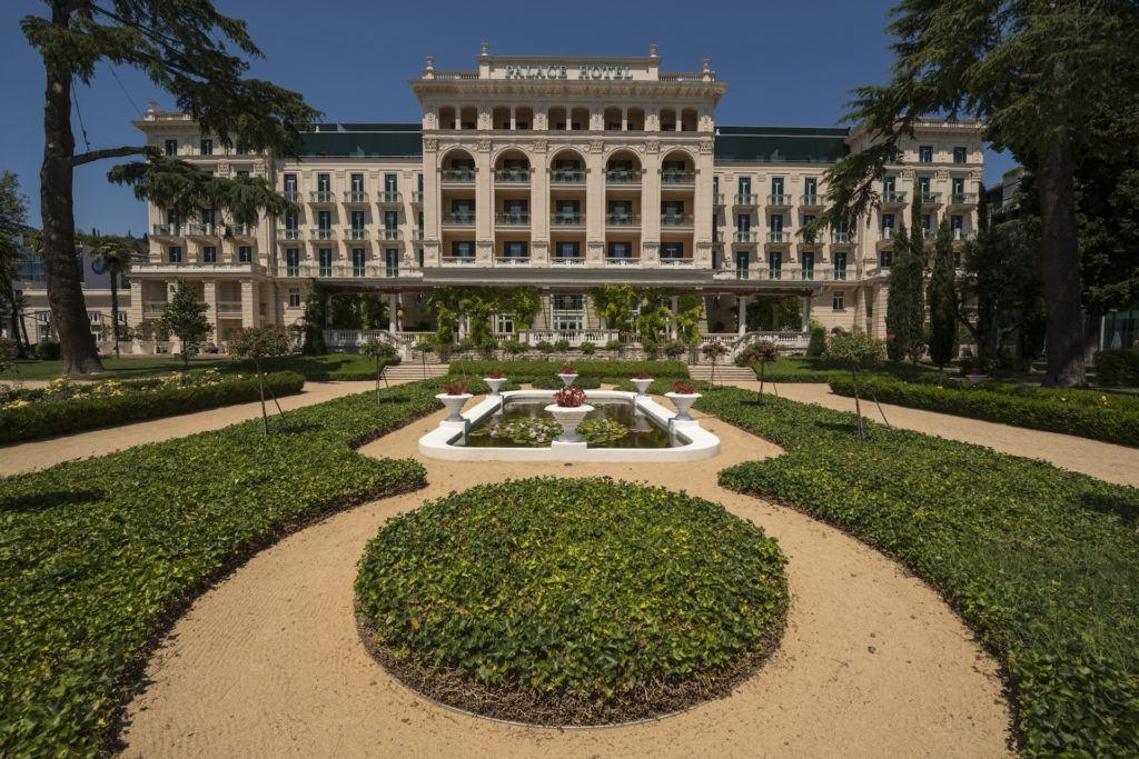 Palace Hotel Portorož, Slovinsko. Foto: Kempinski Palace hotel Portorož