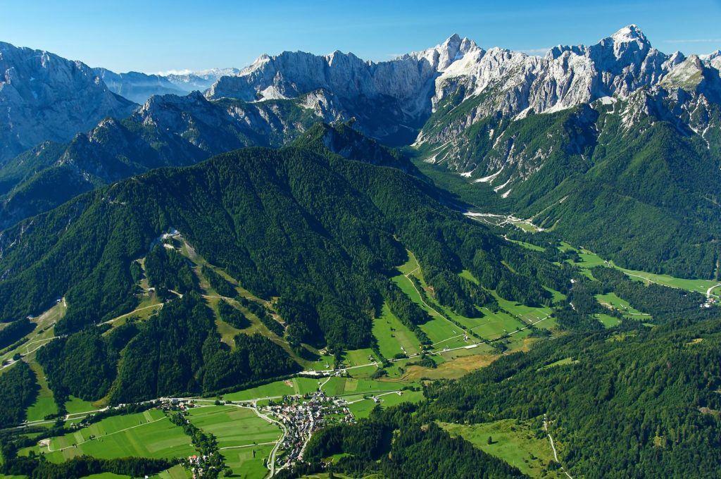 Kranjska Gora, Slovinsko. Foto: Matevž Lenarčič