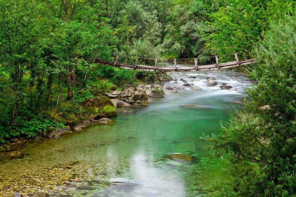 Savinja, Slovinsko. Foto: Jošt Gantar