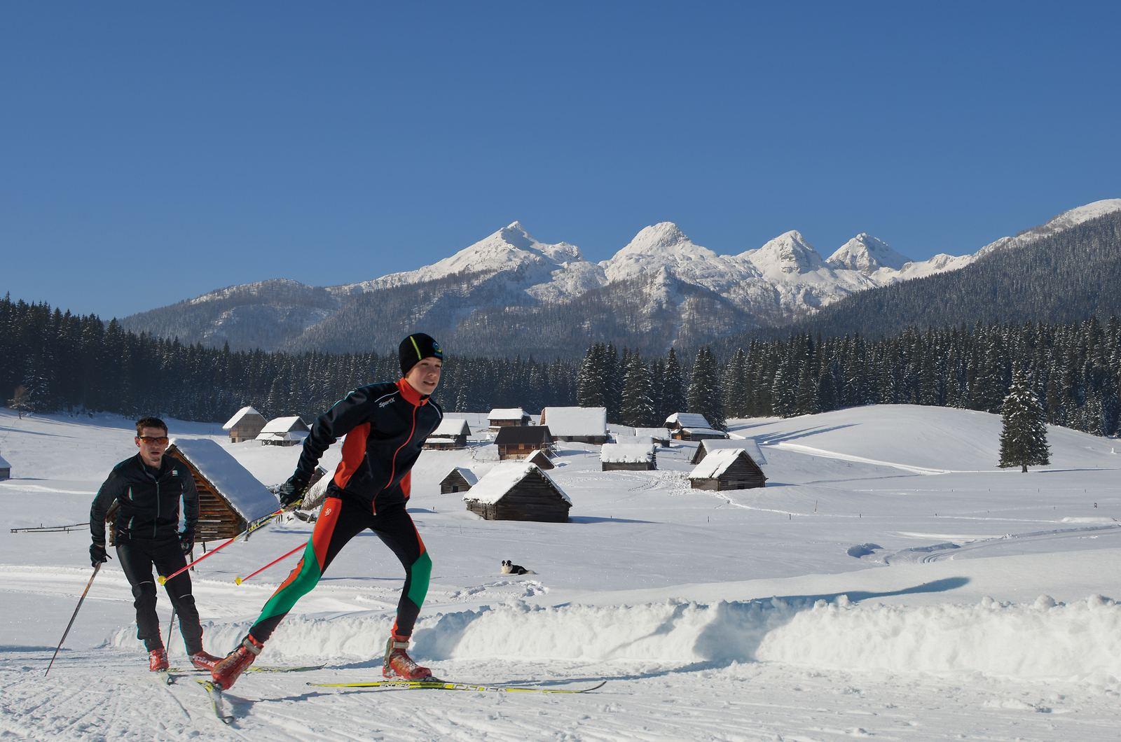 Pokljuka, Julské Alpy, Slovinsko. Foto: Mojca Odar, Turizem Bohinj