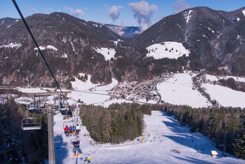 Skiareál Kranjska Gora, Slovinsko