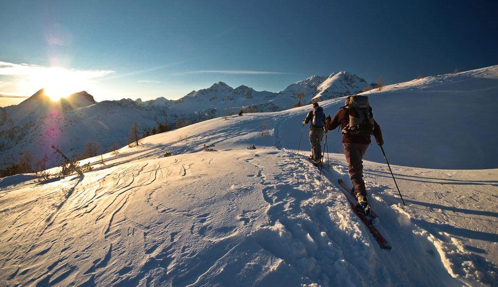 Skialpinismus, Slovinsko