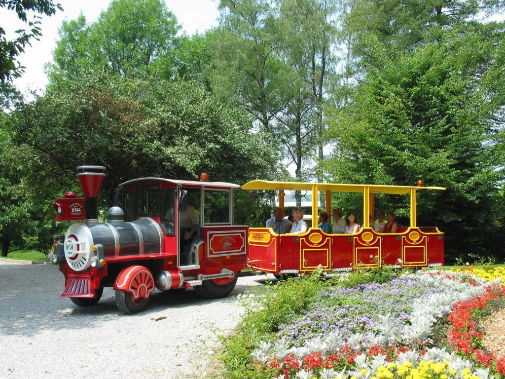 Arboretum Volčji potok, Radomlje, Slovinsko. Foto: Arboretum Volčji potok