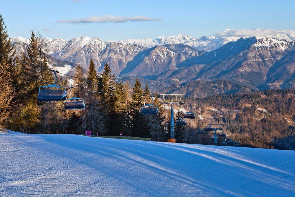Skiareál Cerkno, Slovinsko