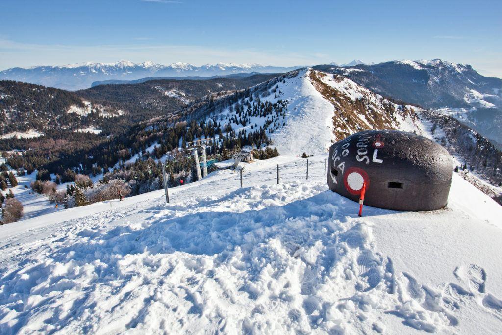Skiareál Soriška planina, Bohinj, Slovinsko