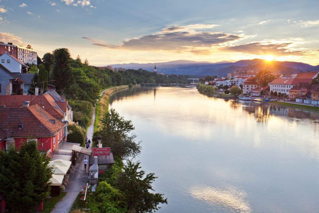 Maribor, Slovinsko. Foto: Jošt Gantar