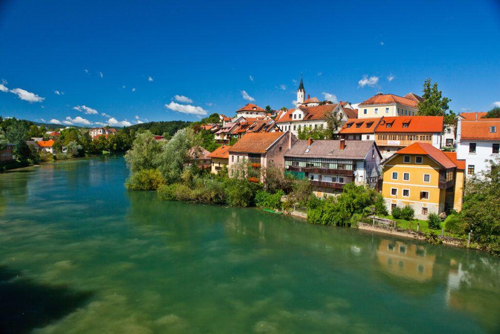 Novo mesto, Slovinsko. Foto: Jošt Gantar