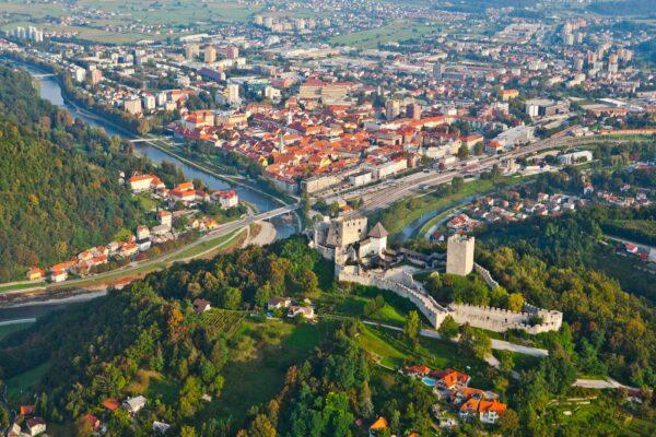 Celje, Slovinsko. Foto: Jošt Gantar
