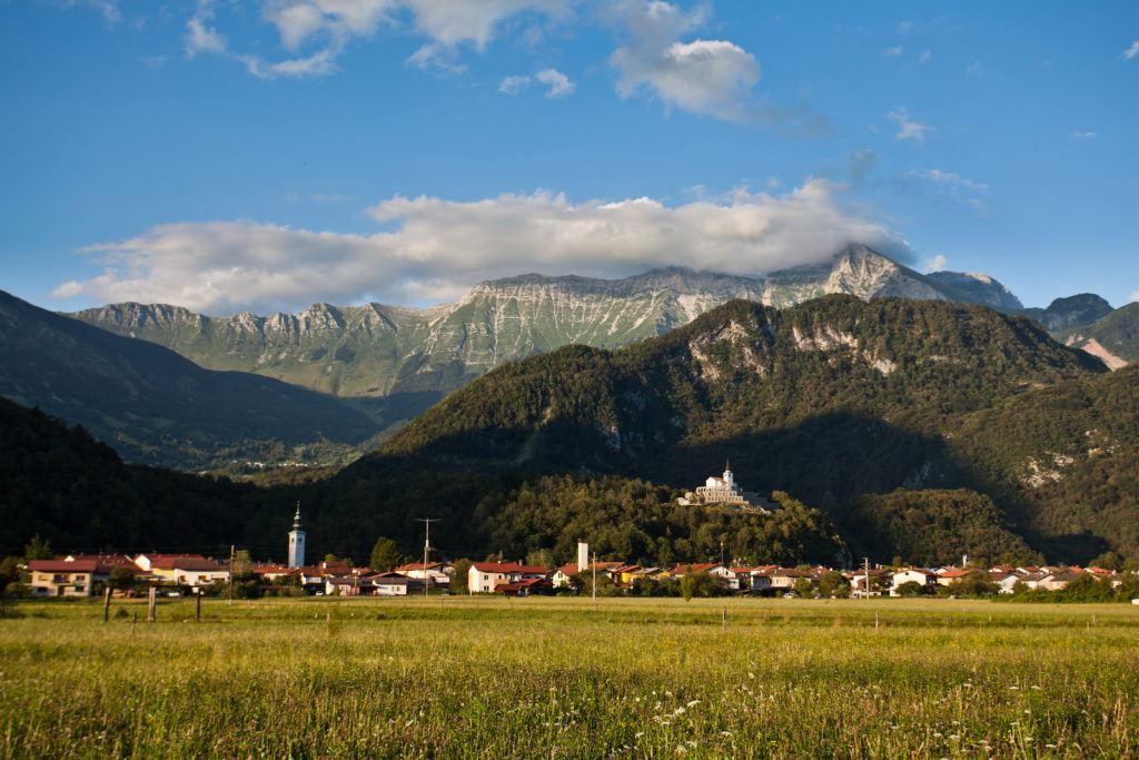 Kobarid, údolí Soči, Slovinsko, Foto: Jošt Gantar